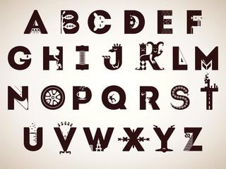 Alphabet of symbols