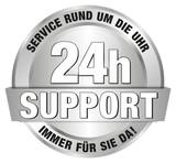 24h Support - Service rund um die Uhr - immer für Sie da!