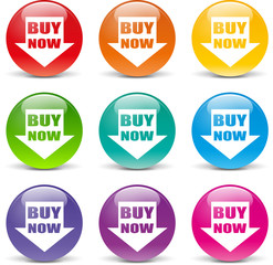 Vector buying icons
