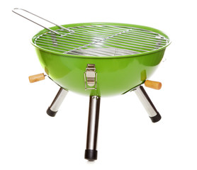 Garden grill isolated on white