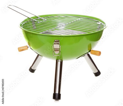 Garden grill isolated on white - 67482650