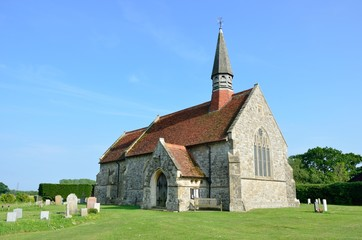 English rural country church
