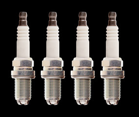 Car engine spark plugs