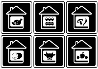 set food icons on home