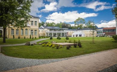 Lithuania, Druskininkai. the view on the town