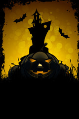 Halloween Scary Card