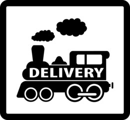train delivery icon