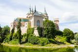Naklejka Bojnice castle in Slovakia