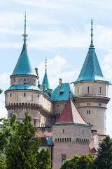 Bojnice castle detail
