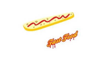 Fast food zapiekanka logo