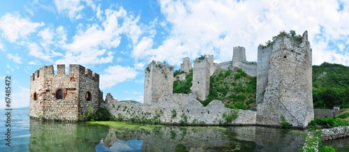 canvas print picture Golubac Fortress