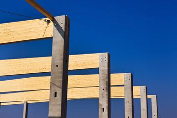Baustelle für Gewerbe und Produktionshalle
