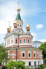 Russian orthodox cathedral in Vienna