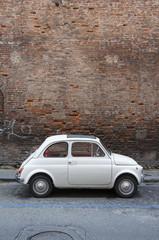 small italian vintage car