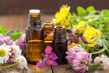 essential oils and medical flowers herbs - 67487685