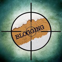 Blogging target