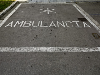 Parking ambulancia