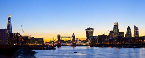 London Skyline Panoramic
