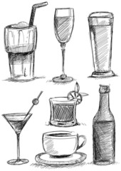 Drinks Drawing