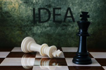 Idea and chess concept