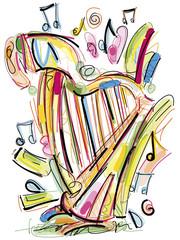 Sketchy Harp