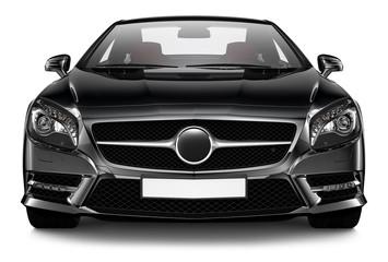 Black sport coupe
