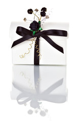 Small white gift box