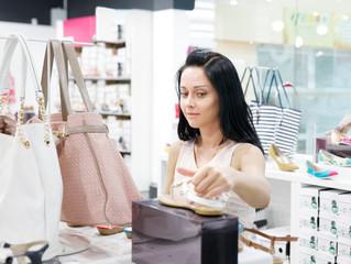 woman in shop
