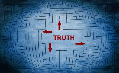 Truth maze concept