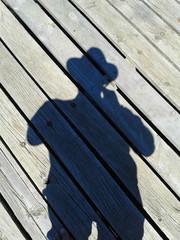 Schattenaufnahme - Silhouette