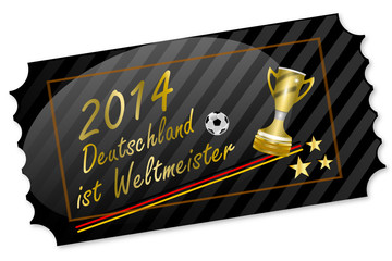 Weltmeister Ticket