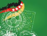 Soccer / Football design template, world champion germany
