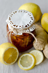 Ginger lemon jam