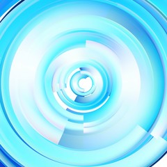 Abstract technological background. Circles