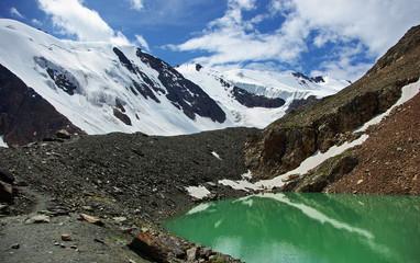 blue lake, Aktru