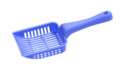Litter scoop isolated on white background