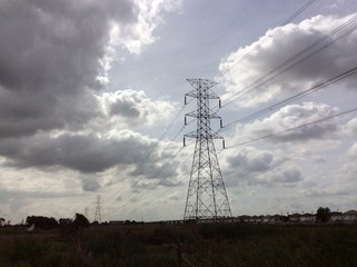 Hight voltage line