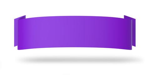 Werbeplakat horizontal violett