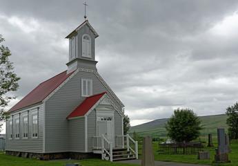 Nordische Kirche in Reykholt