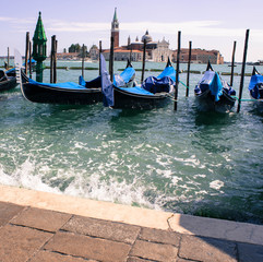 boat dock in Venice