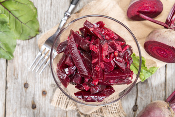 Bowl with Beetroot Salad