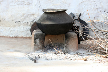 India Traditional Kitchen