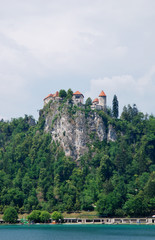 Burg Bled am See