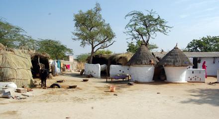 hut of indian village