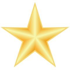Stern Gold 5zackig