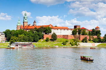 Royal castle in Krakow - Wawel