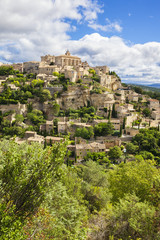 Gordes medieval village in Southern France