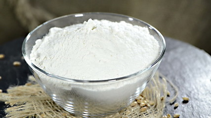 Wheat Flour (loopable video)