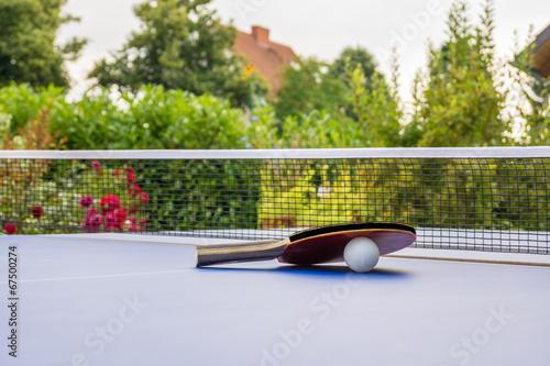 canvas print picture Tischtennis