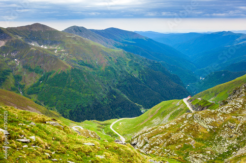 Fagaras mountains in Romania